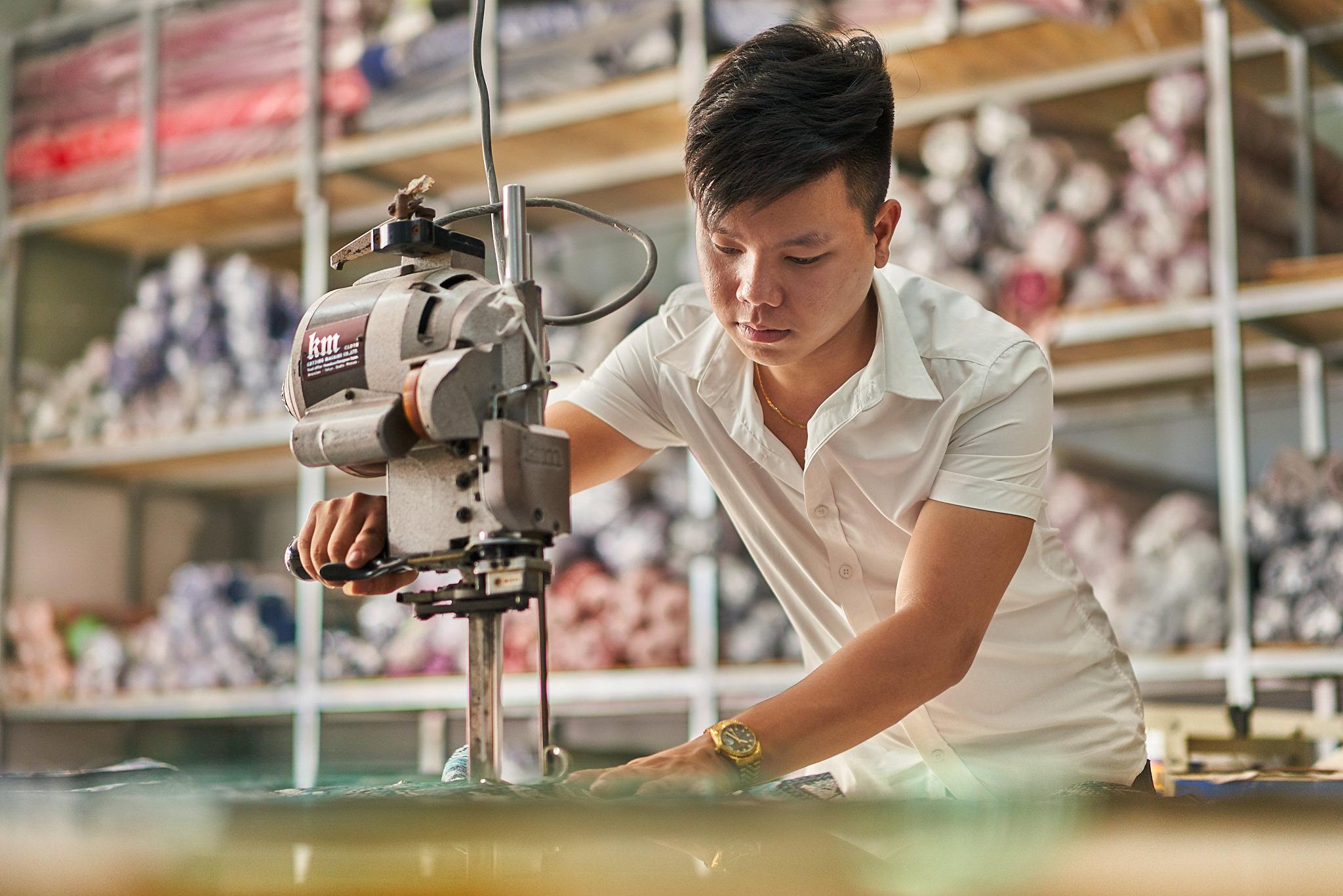 Vietnam Factory Photographer