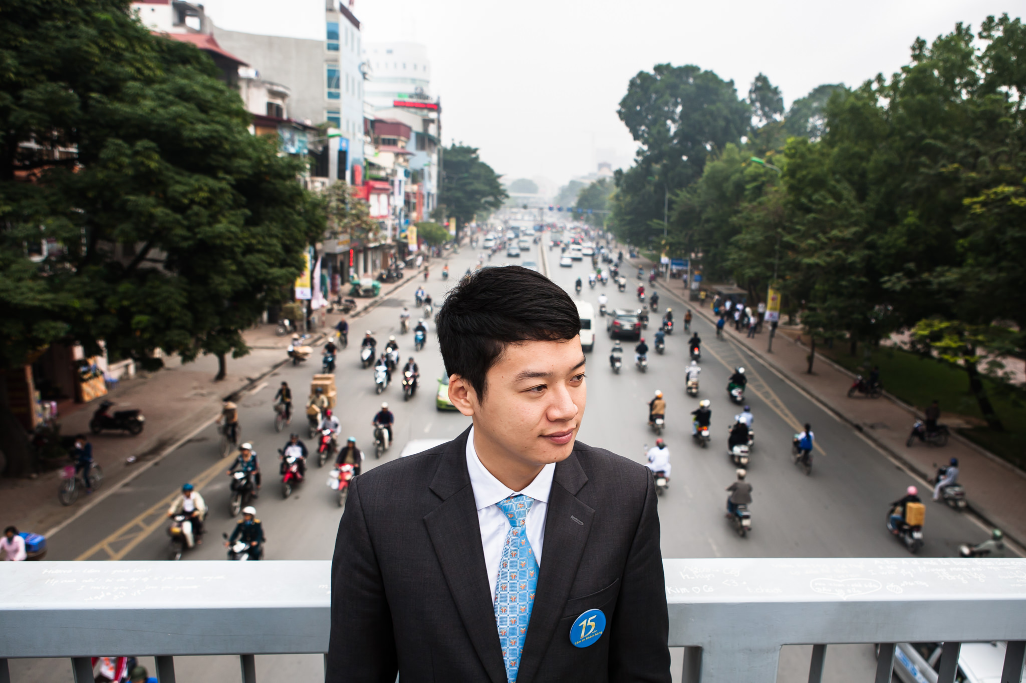 Corporate Portrait Photography in Hanoi  for VIB's Annual Report | Hanoi Photographer