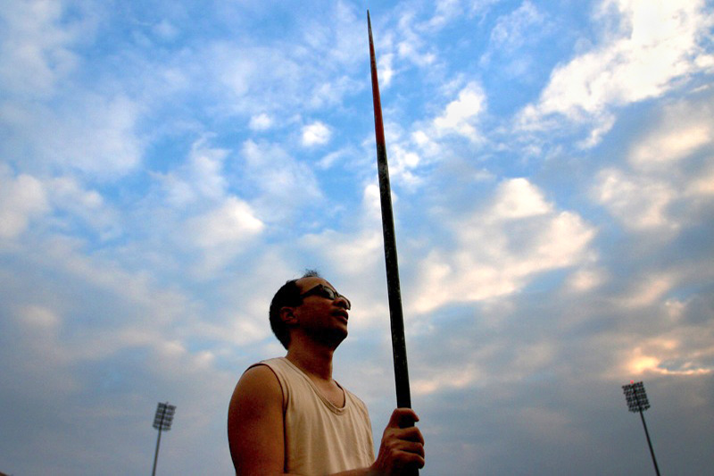 Viet is blind and competes in Javelin throwing.